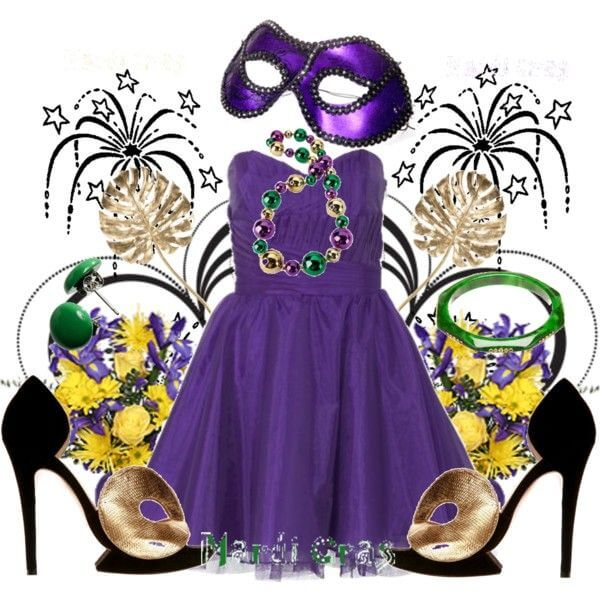 Mardi Gras Casino Outfit Ideas