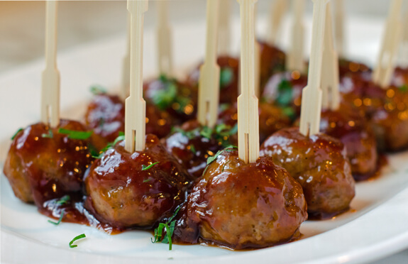 Lamb or Beef Cocktail Meatballs