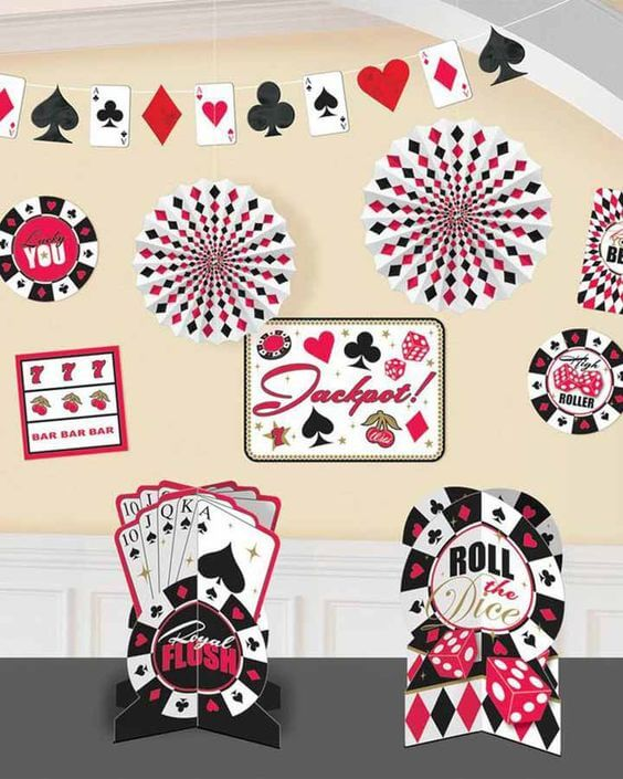 Budget Casino Party Decorations