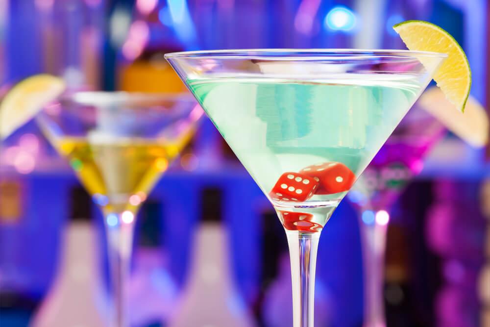 Casino-Themed Cocktail Ideas
