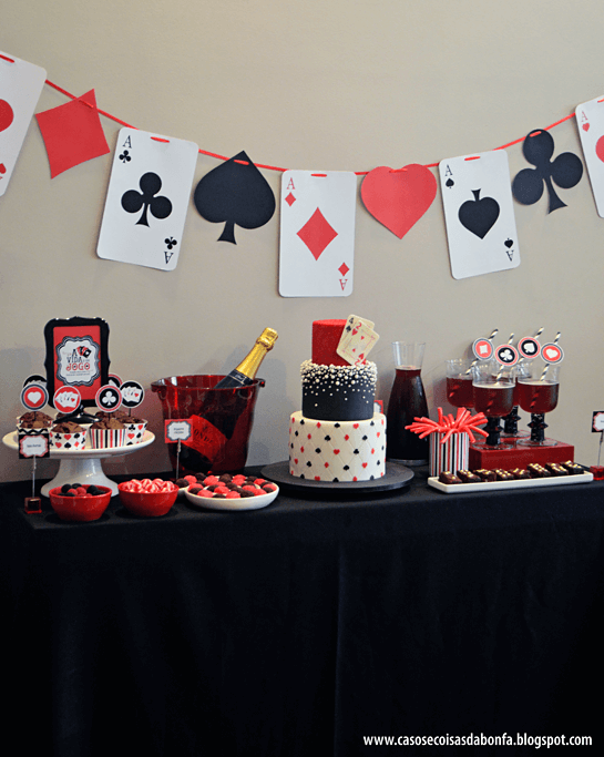 Kings & Queens Casino Themed Party