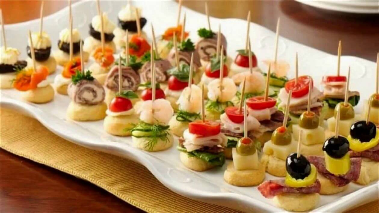 10 Quick and Easy Casino Party Canapes