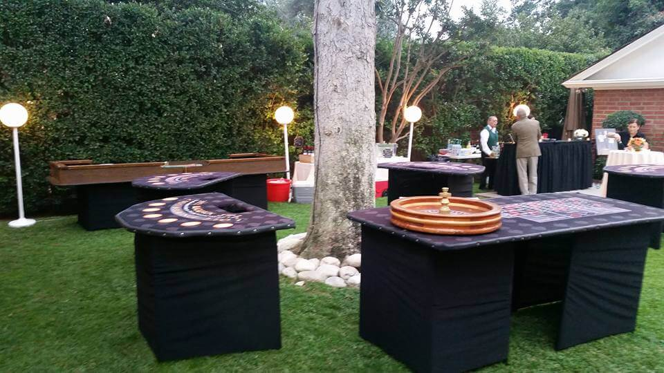 Outdoor Casino Party Ideas