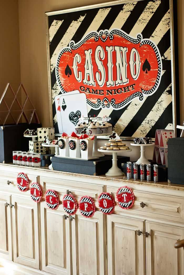 Everyday Casino Décor & Top Casino Theme Party Decorations Ideas - Best Casino Party Supplies